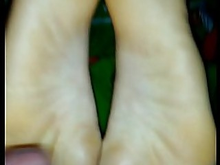 18-21 Foot Fetish Footjob