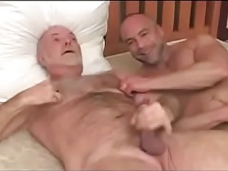 Daddy Double Penetration Fuck Granny