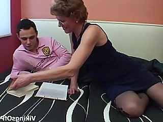 Ass Blonde Blowjob Fuck Glasses Granny Mammy Mature