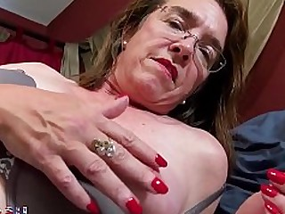 Granny Hairy Mammy Masturbation Mature Playing Pussy Solo
