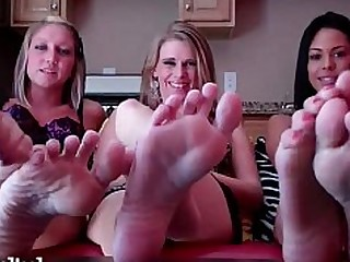 Feet Fetish Foot Fetish Footjob High Heels Hot Jerking Lesbian