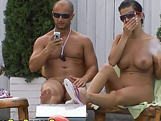 Babe Beauty Bikini Blowjob Cute Group Sex Outdoor Party