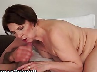 Cougar Facials Fatty Granny Handjob Hardcore HD Small Tits
