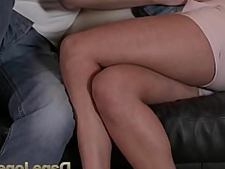 Brunette Couch Couple Cute Erotic Friends Fuck Hot