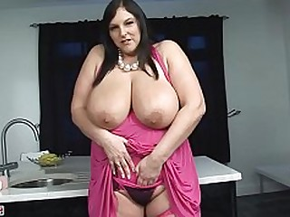 Big Tits Boobs Bus Busty Car Dildo BBW Fatty