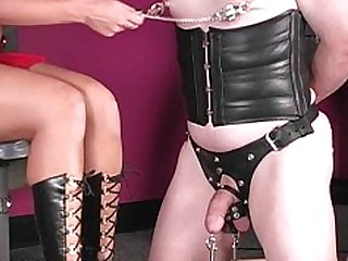 Brunette Feet Foot Fetish High Heels Punished Mistress