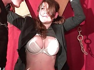 Amateur BDSM Big Tits Boobs Brunette Fisting Hardcore Oil