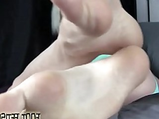 Big Cock Feet Fetish Foot Fetish Footjob Hot Jerking Kiss