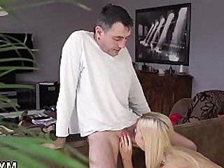Blonde Blowjob BBW Hardcore Old and Young Punished Sleeping Teen